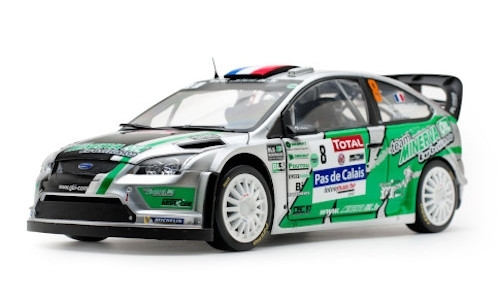 Ford Focus RS WRC no.8 1:18 Sun Star