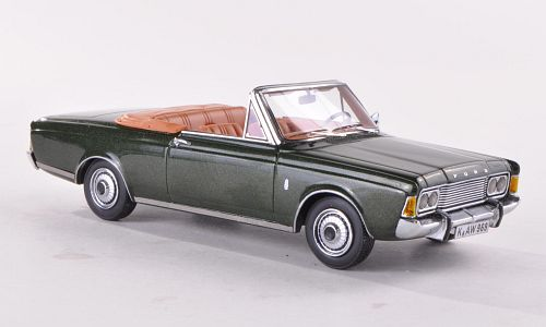 Ford Taunus (P7b) 26M Convertible German