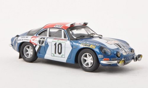 Alpine Renault A110 1600S, No.10, Rally Bandama