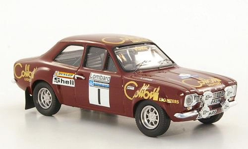 Ford Escort MKI RS 1600, No.1, Lombard RAC Rally