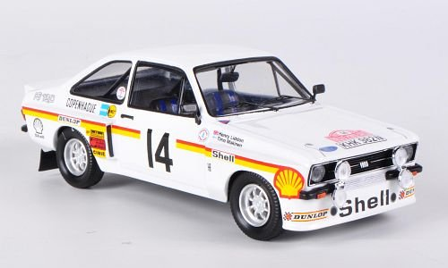 Ford Escort MKII RS 1800 Tamac, No.14, Rally Monte Carlo