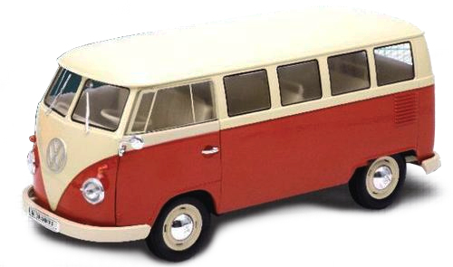 VW T1 Bus 1:18 Welly
