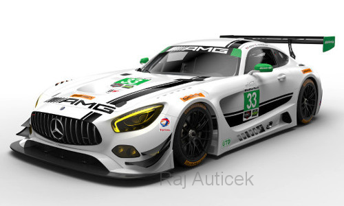 Mercedes AMG GT3, No.33 1:43 IXO