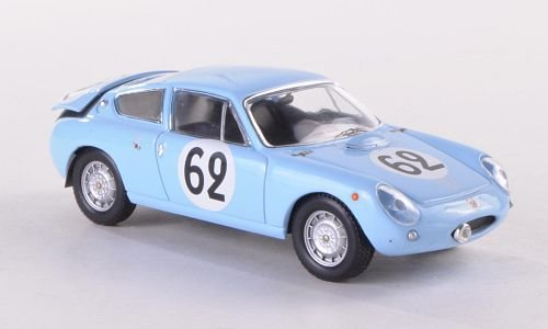 Simca Abarth 1300, No.62, 24h Le Mans