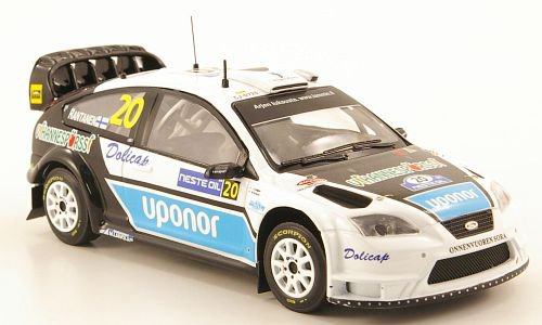 Ford Focus WRC, No.20, Rally Finland
