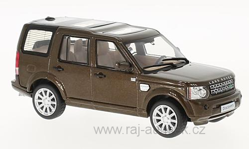 Land Rover Discovery 4 1:43 WhiteBox