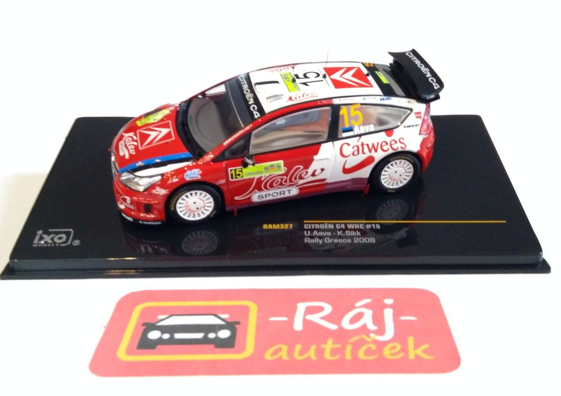 Citroen C4 WRC, No.15, Rally Greece