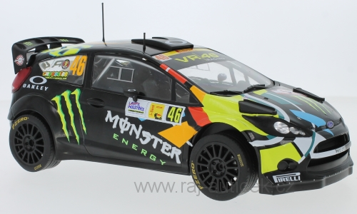 Ford Fiesta RS WRC, No.46 Rossi 2012 1:18 IXO