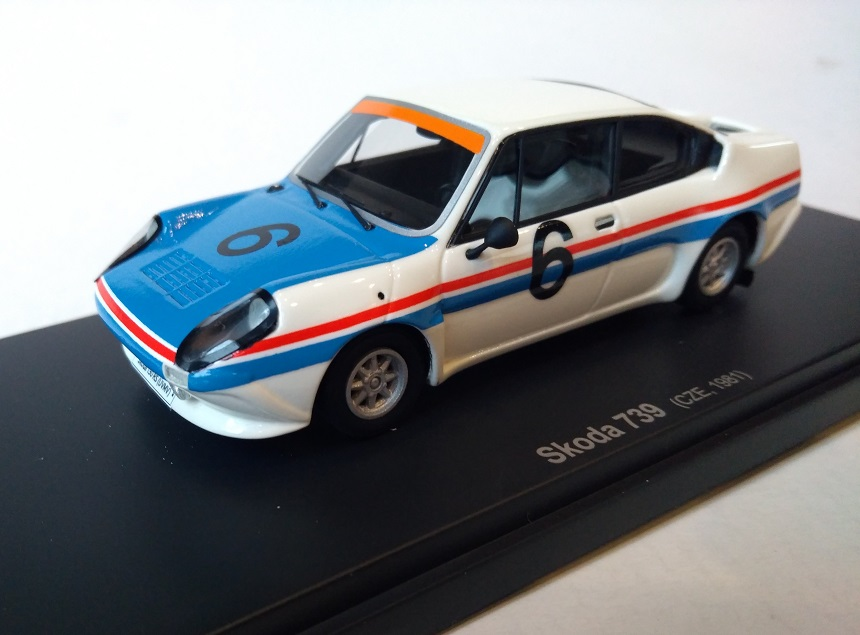 Škoda 739 motorsport 1:43 Avenue 43 (Autocult)