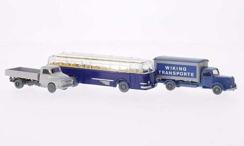 Mercedes 5000 + Ford 2500 + Bussing Trambus