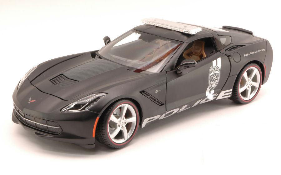 Chevrolet Corvette (C7) Stingray police 1:18 Maisto