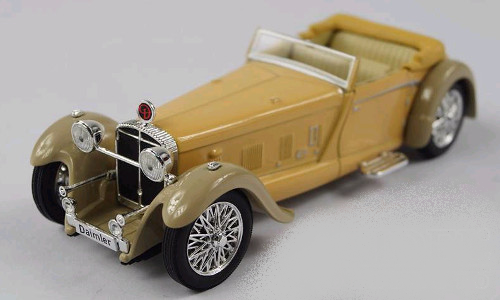 Daimler Double Six 50 Convertible 1:43 Whitebox