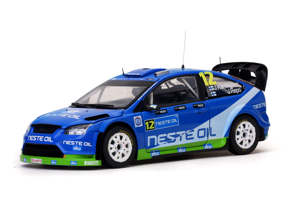 Ford Focus RS WRC08, No.12, M-Sport 1:18 Sun Star