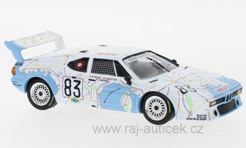 BMW M1, No.83 1:43 IXO