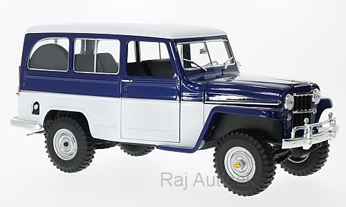 Jeep Willys Station Wagon 1:18 Lucky Die Cast