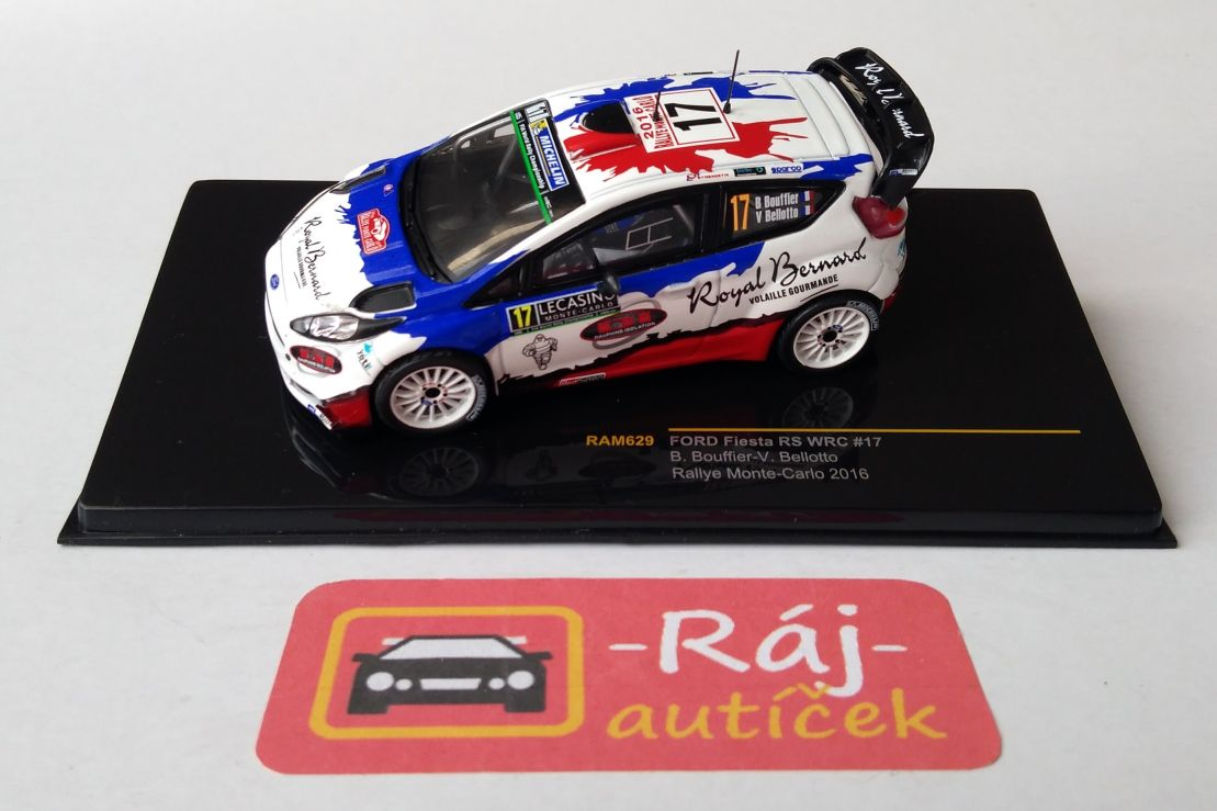 Ford Fiesta RS WRC, No.17 1:43 IXO