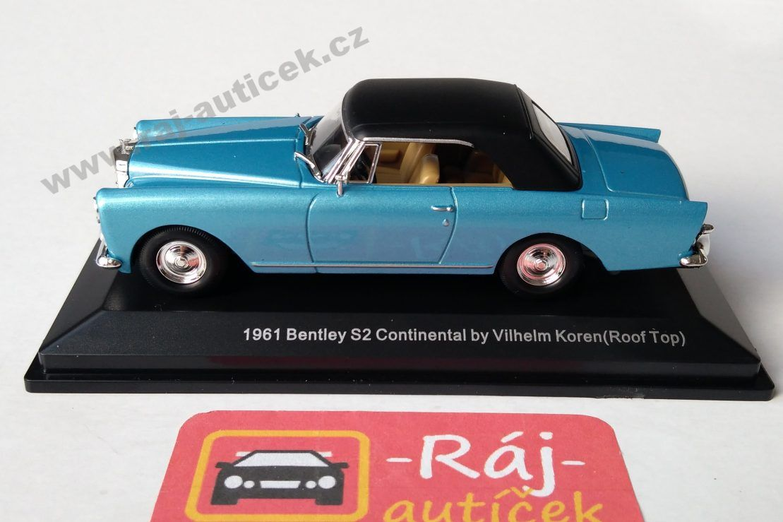 Bentley Continental S2 DHC by Vilhelm Koren 1:43 Lucky Die Cast