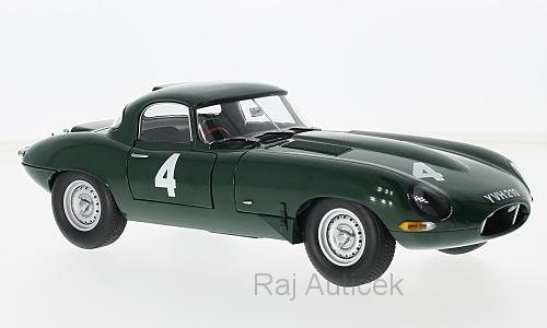 Jaguar E-Type Lightweight, No.4 1:18 Paragon