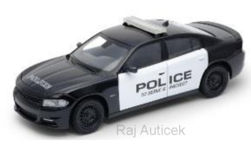 Dodge Charger Police 1:24 Welly