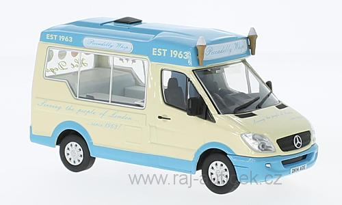 Mercedes Sprinter Whitby Mondial 1:43 Oxford