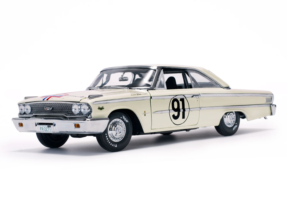 Ford Galaxie 500 XL , No.91 1:18 Sun Star