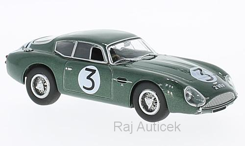 Aston Martin DB4GT Zagato VEV, No.3 1:43 Oxford