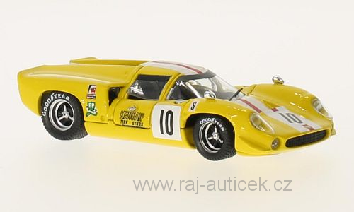 Lola T70 Coupe, No.10 1:43 Best