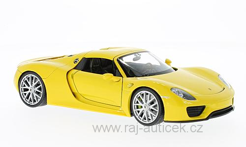 Porsche 918 Spyder 1:24 Welly