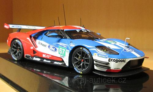 Ford GT, No.67 1:43 IXO