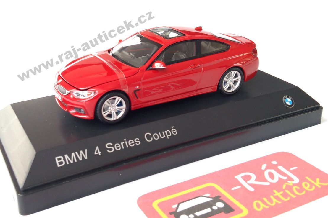 BMW 4 Coupe 1:43 iscale
