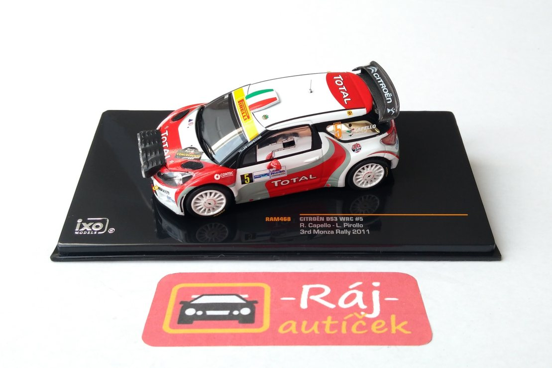 Citroen DS3 WRC no.5 1:43 IXO