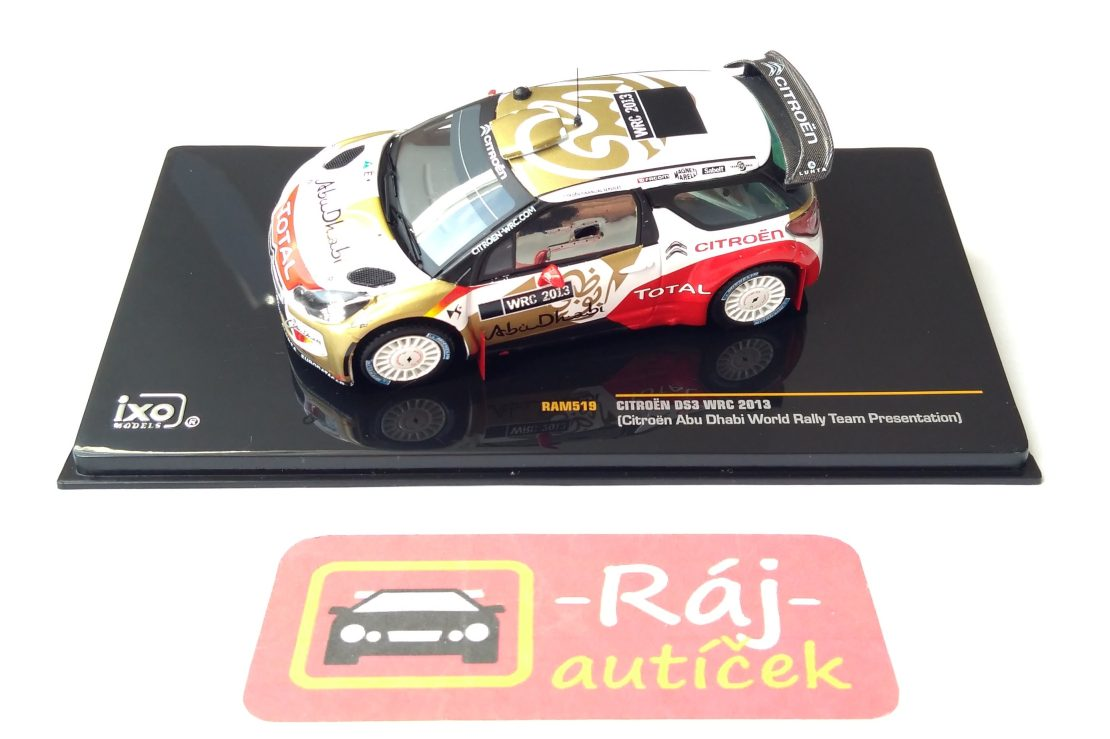 Citroen DS3 WRC 2013 1:43 IXO