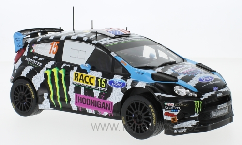 Ford Fiesta RS WRC Ken Block 2014 1:18 IXO