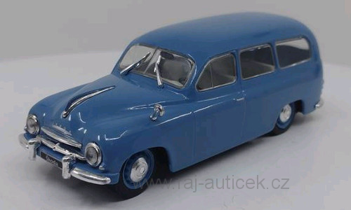 Škoda 1201 Combi 1:43 WhiteBox