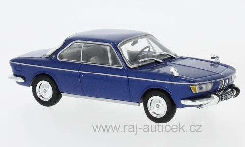 BMW 2000 CS 1:43 WhiteBox