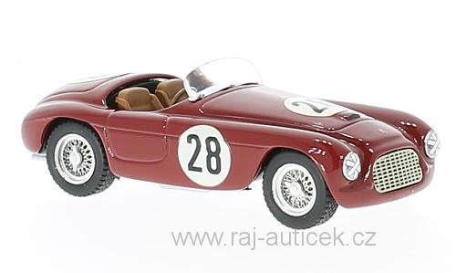 Ferrari 166 MM Barchetta, No.28 1:43 Art Model