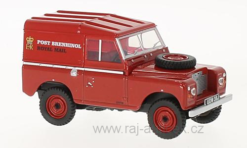 Land Rover Series IIA SWB Hard Top 1:43 Oxford
