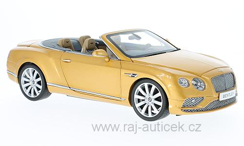 Bentley Continental GT Convertible 1:18 Paragon