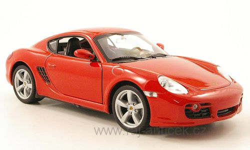 Porsche Cayman S 1:24 Welly