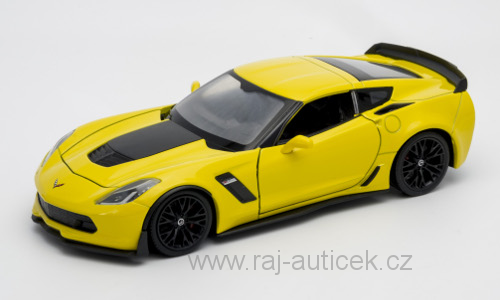 Chevrolet Corvette Z06 1:24 Welly