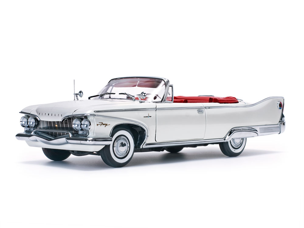 Plymouth Fury Convertible 1:18 Sun Star