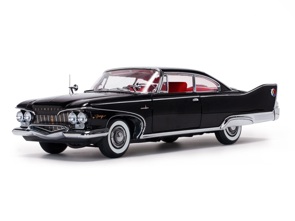Plymouth Fury Hard Top 1:18 Sun Star
