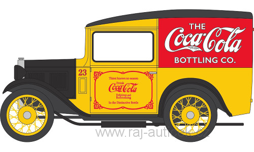 Austin 7 Van Cocal Cola 1:43 Oxford