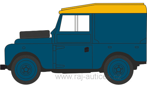 Land Rover Series I 88 Hard Top RAF 1:43 Oxford