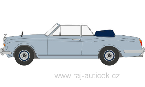 Rolls Royce Corniche Convertible 1:43 Oxford