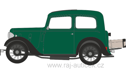 Austin 7 Ruby Saloon 1:43 Oxford