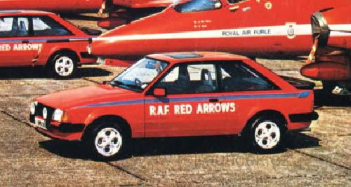 Ford Escort MKIII XR3 Red Arrows 1:43 Vitesse
