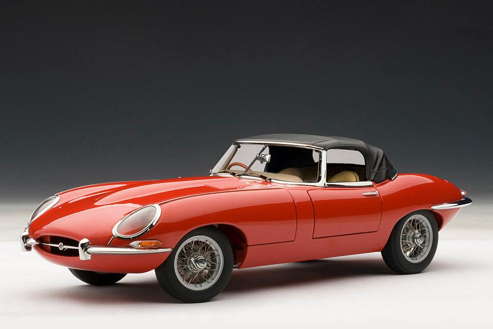 Jaguar E-Type Roadster 1:18 AUTOart