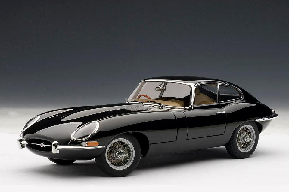 Jaguar E-Type Coupe 1:18 AUTOart