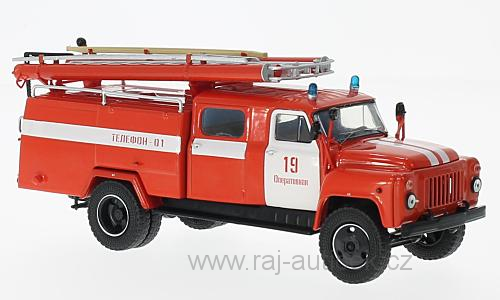 GAZ 53-12 (106B) AC-30 hasiči 1:43 Start Scale Models